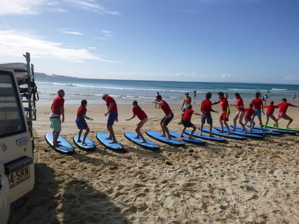 Read more about the article Learn to Surf Adventures Today – More Thrilled Beginners!!!